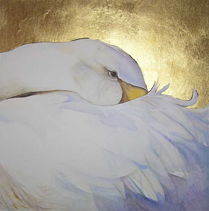 Golden Inspirations: Gold Leaf Painting