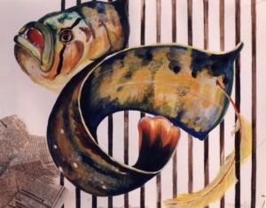 FishCollagePainting-MaryWade