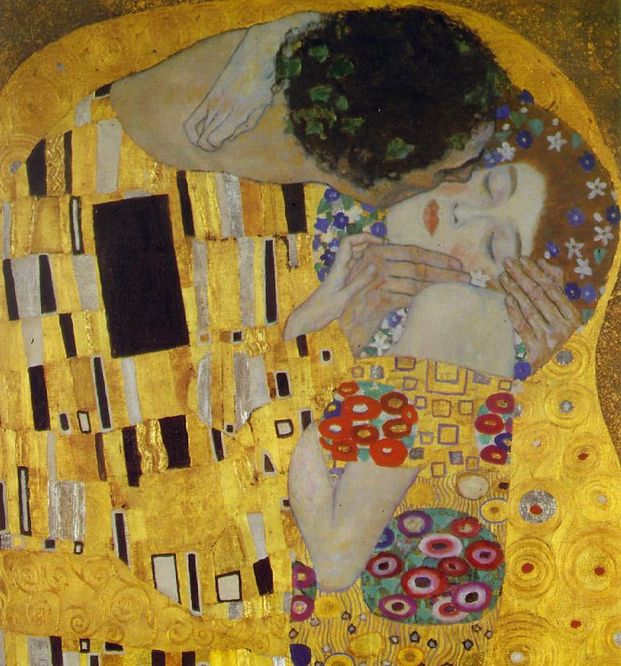 gustav klimt is the most famous artist of the 20th century to have used gold leaf as a primary aspect of his expression