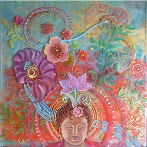 """Blooming Meditation"", by Robin Urton"