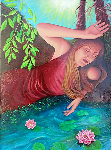 """Healing Waters"", by Robin Urton"