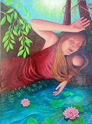 """Healing Waters"", by Robin Urton"