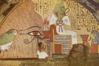 Eyeconart art of egypt for Mural egipcio