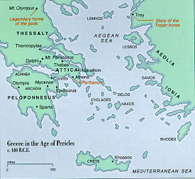 Eyeconart ancient greece greece map 440 bce gumiabroncs Images