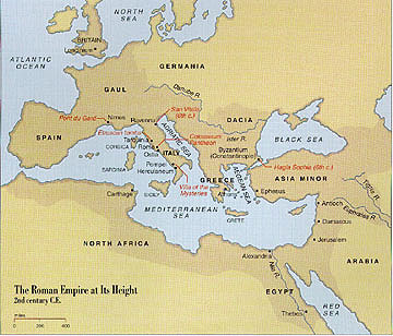 Eyeconart Roman Art - Egypt and rome map